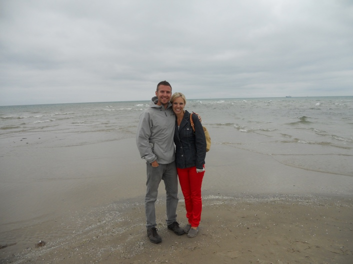 Despite the fact that this picture looks like the Oregon Coast, was actually taken in Skagen, Denmark!