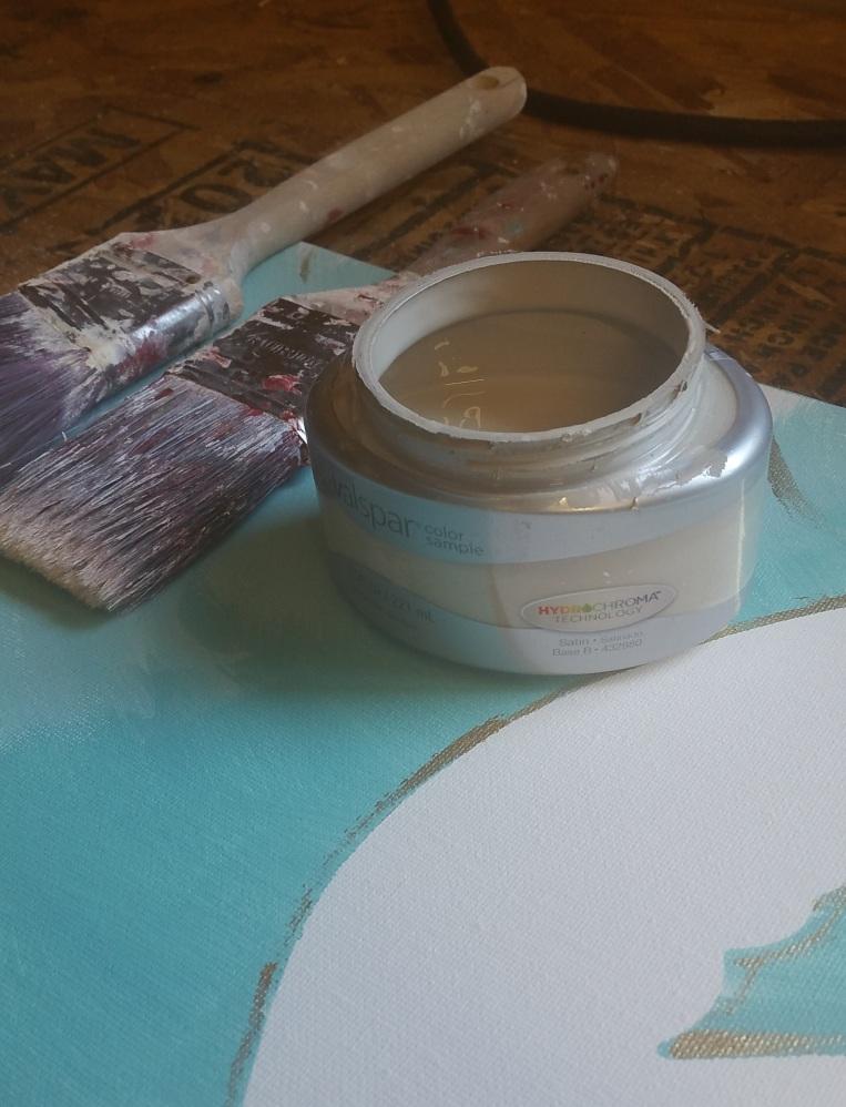 Flag pre paint