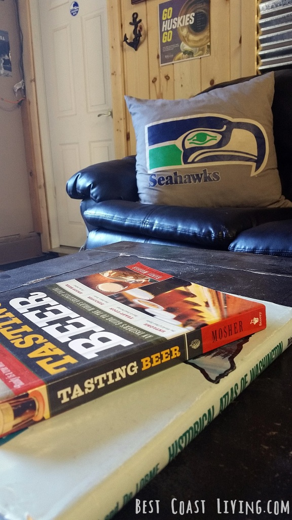 Books and Couch
