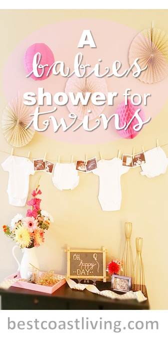 A Baby Shower for Twins