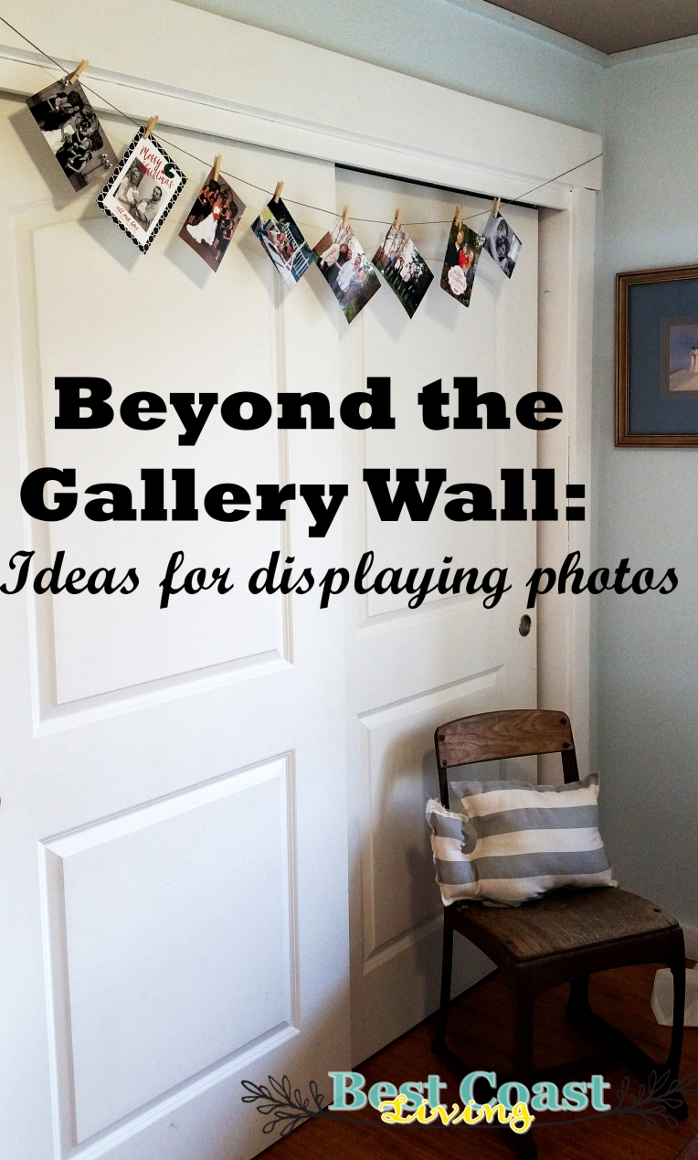 Beyond the gallery wall -- Ideas for displaying photos