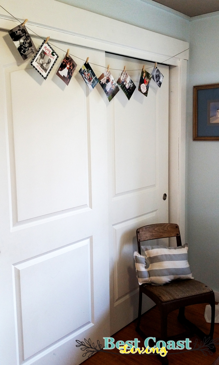 Make a garland out of photos