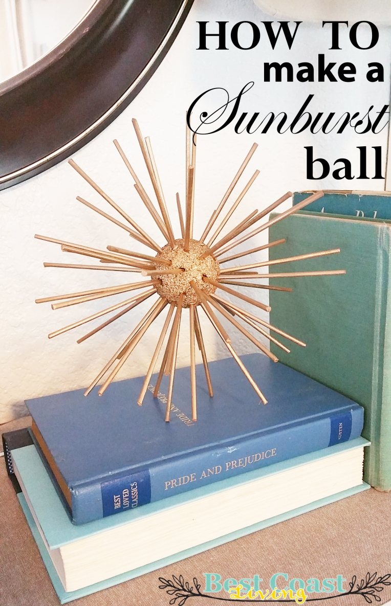 How to make a Sunburst Ball